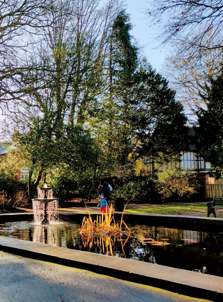 Town Gardens, Old Town Swindon. December 2020. We Are Swindon