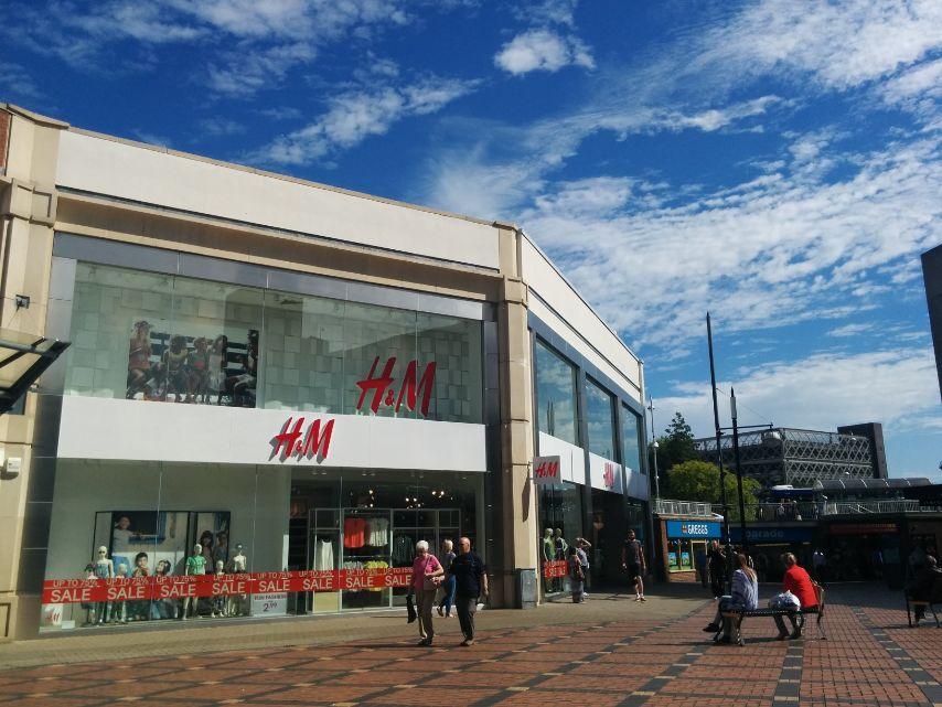 H&M Swindon town centre We Are Swindon