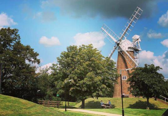 Blue Sky Windmill Hill Swindon by Swindon photographer Alex White We Are Swindon