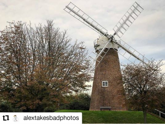Winter Windmill hill Swindon by Swindon photographer Alex White We Are Swindon