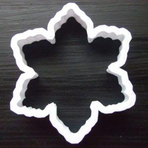 Mini snowflake cutter before, SED Developments 3D printing Swindon