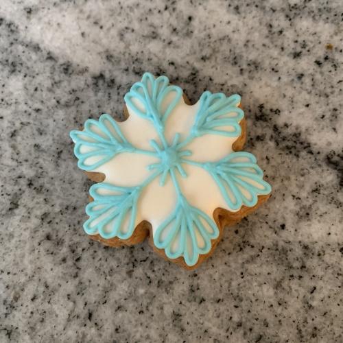 Mini snowflake cutter after, SED Developments 3D printing Swindon