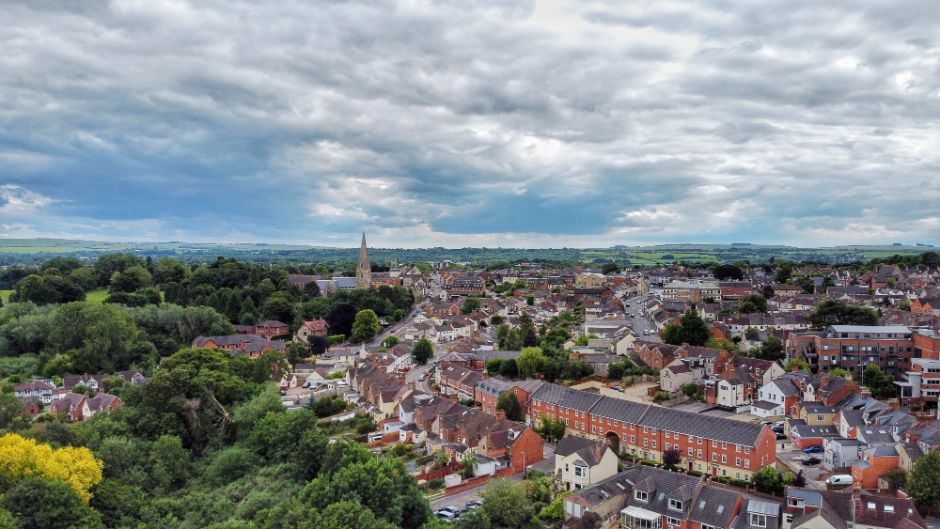 Ashkay Dongre We Are Swindon drone photographer