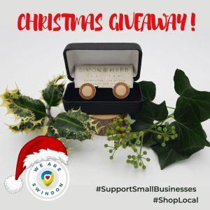 Simon Webb Christmas giveaway December 2020