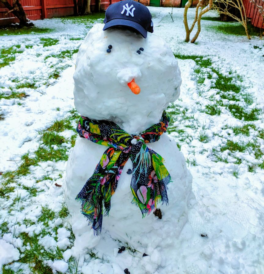 We Are Swindon Snowman