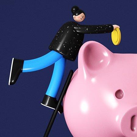 Allsorts Creative Piggy Bank
