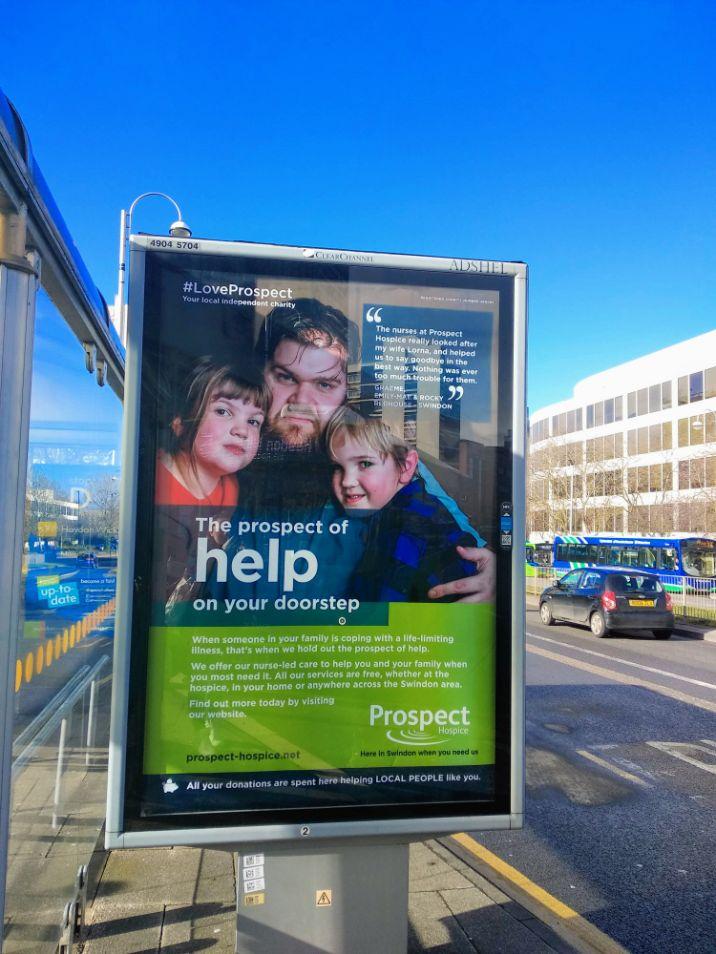We Are Swindon Michelle Jones photography taken for Prospect Hospice