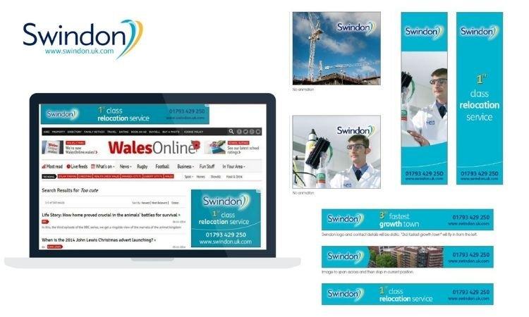 We Are Swindon. Michelle Jones. SwindonUK campaign national digital ads
