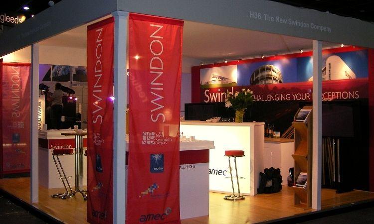 Michelle Jones We Are Swindon Exhibition stand for The New Swindon Company