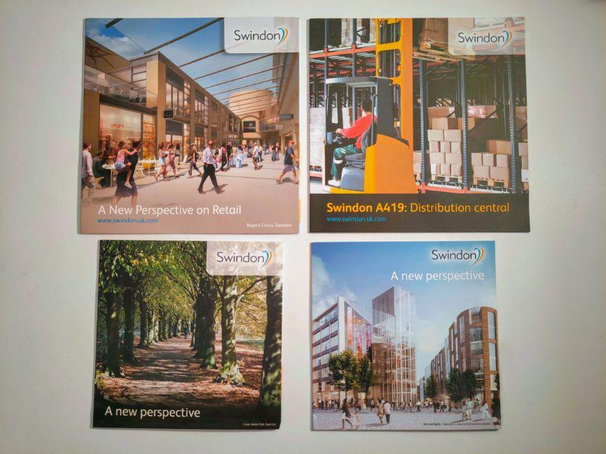 We Are Swindon Michelle Jones Print Examples