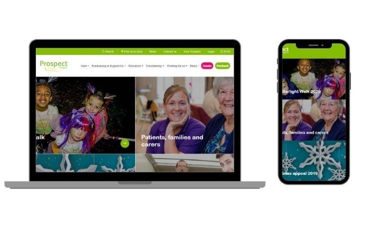 We Are Swindon Prospect Hospice new website