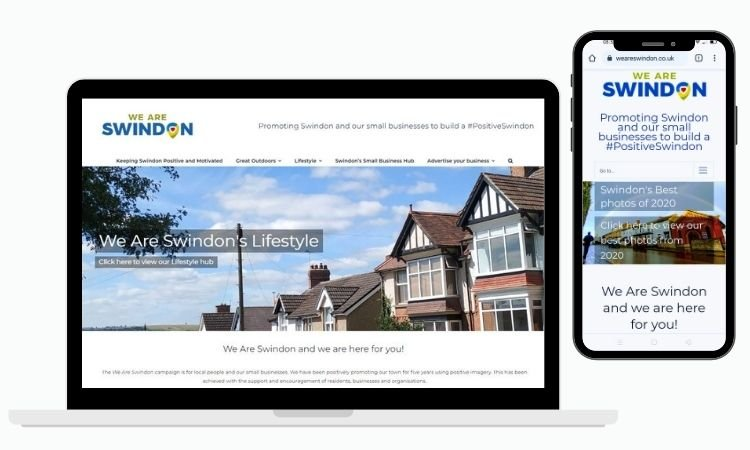 We Are Swindon Website Michelle Jones