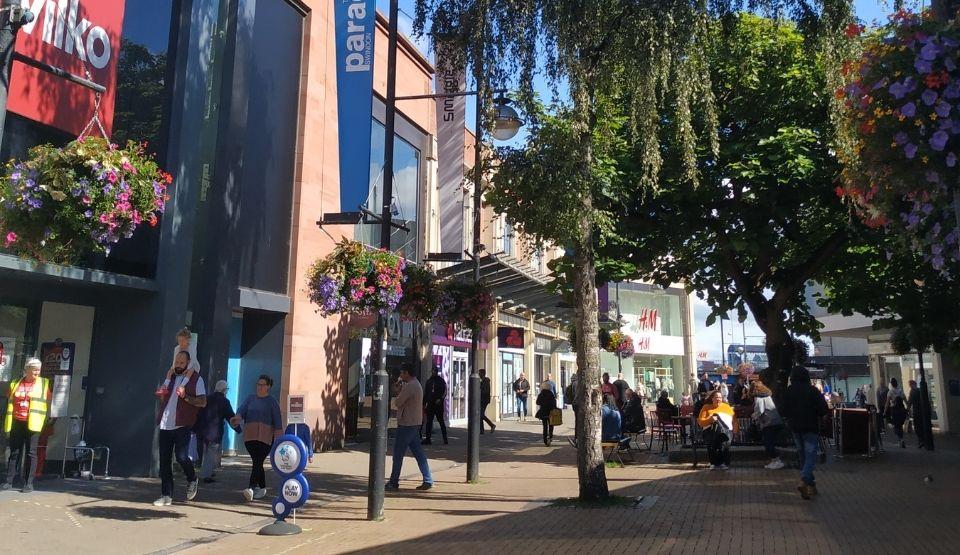 Swindon We Are Swindon town centre