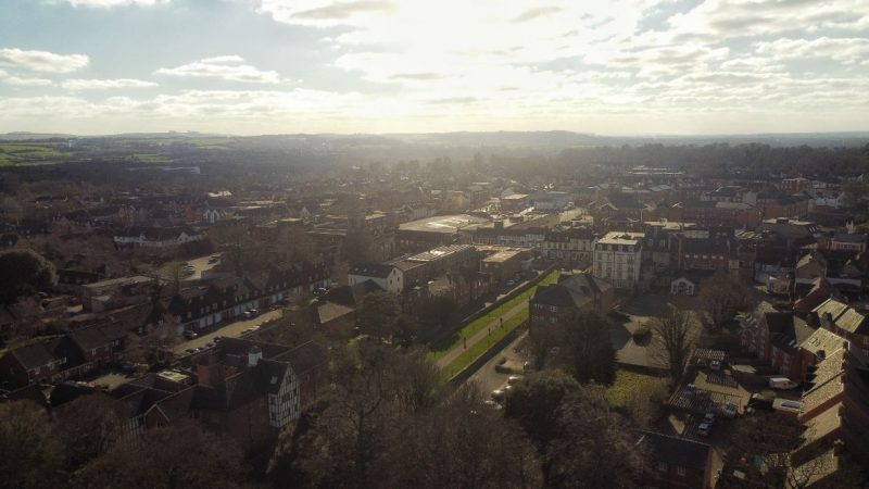 We Are Swindon from the sky - Akshay Dongre