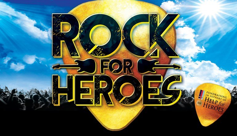 Rock For Heroes Swindon event