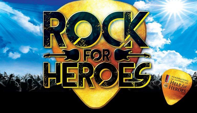 Rock For Heros Swindon event