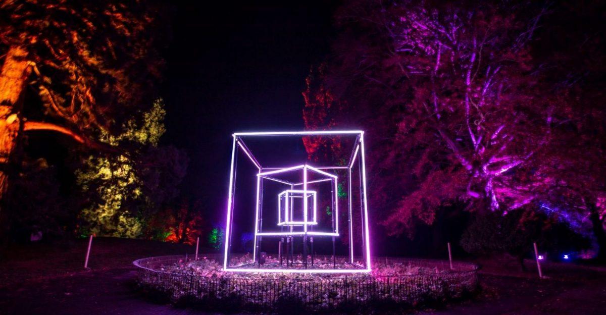 Town Gardens Christmas Lights 2021.
